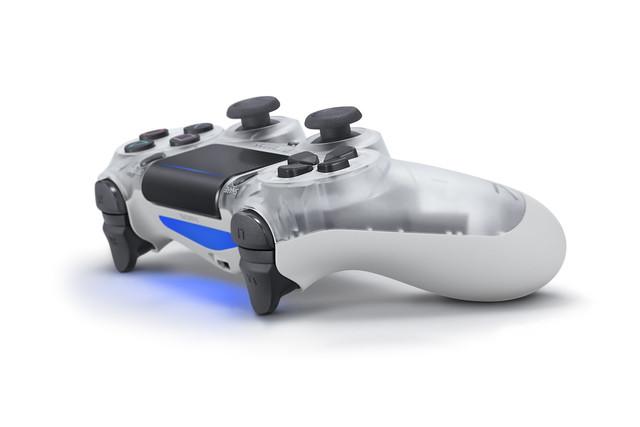 Crystal DualShock 4