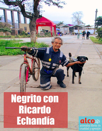 Negrito lleva en su mochila medicinas para curar a sus congéneres.