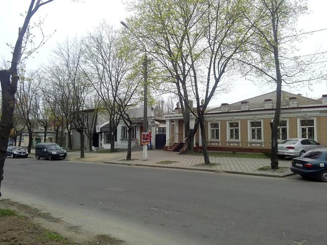 Улица Никольская 2017 год