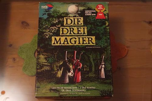 """Brettspiel """"Die Drei Magier"""""""