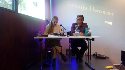 Svenja Herrmann und Urs Heinz Aerni