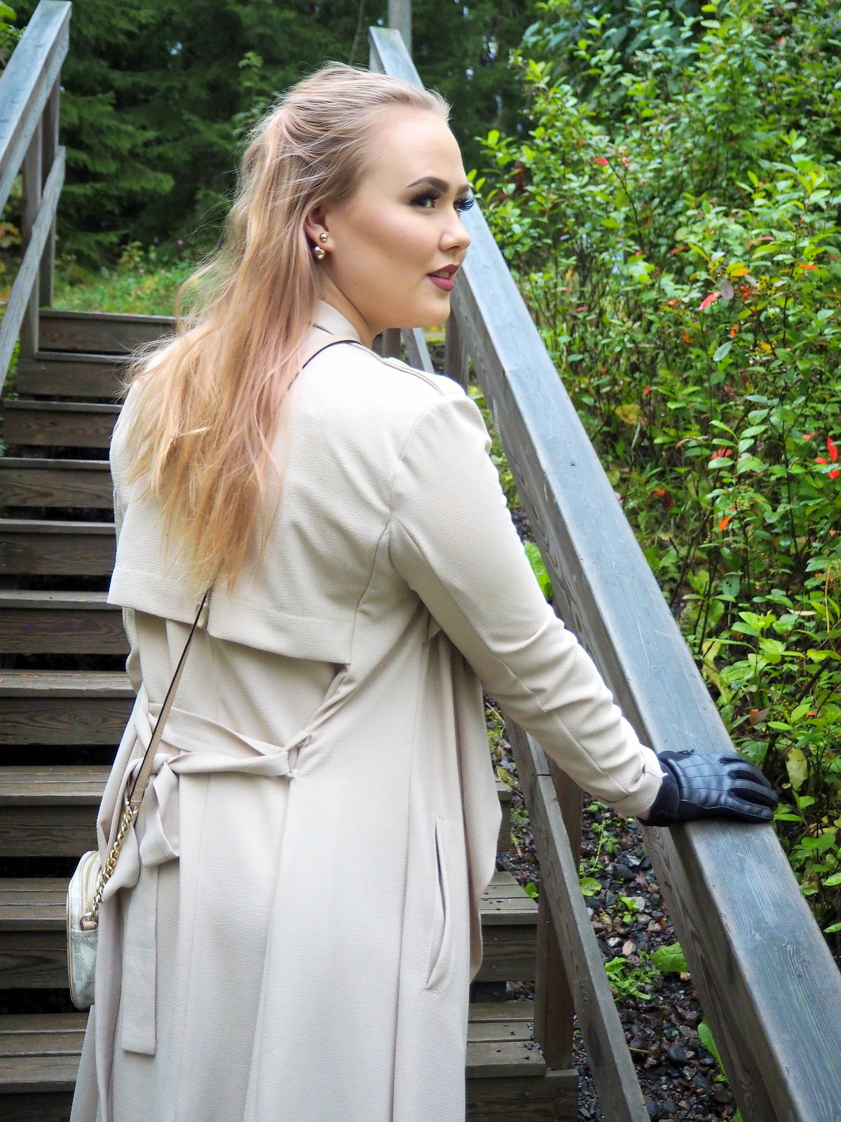 waterfall jacket outfit