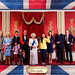 With the Royal Family at Madame Tussaud's
