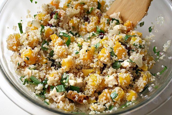 Butternut Squash Quinoa Bowl