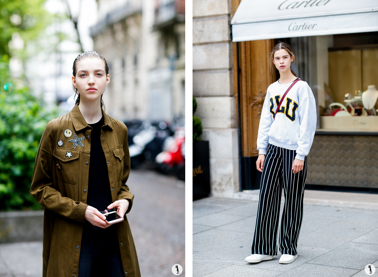 Street style - Paris Fashion Week Haute Couture FW17-18
