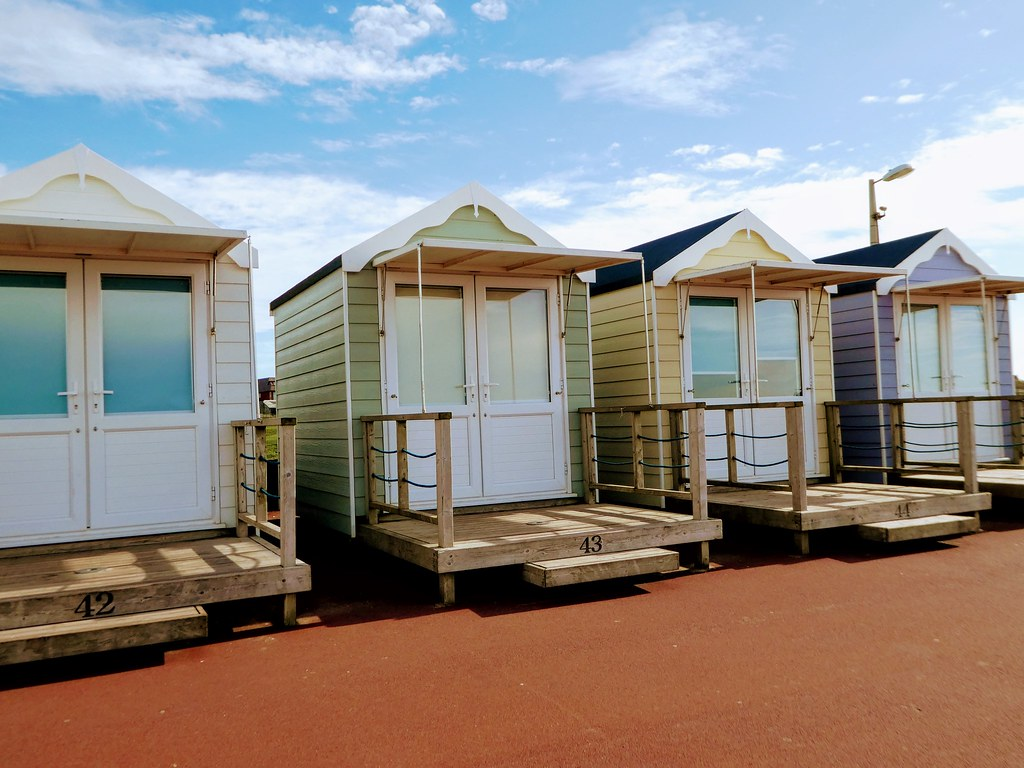 St. Annes-on-Sea beach huts