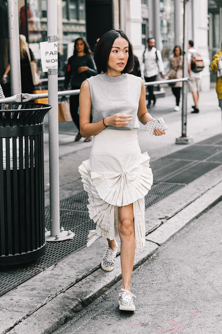 best new york street style fashion week trend style outfit 15