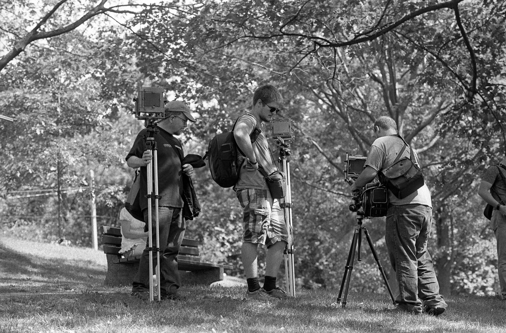 Trio of Tripods