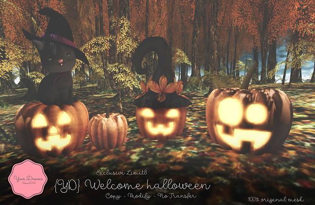 {YD} Welcome halloween