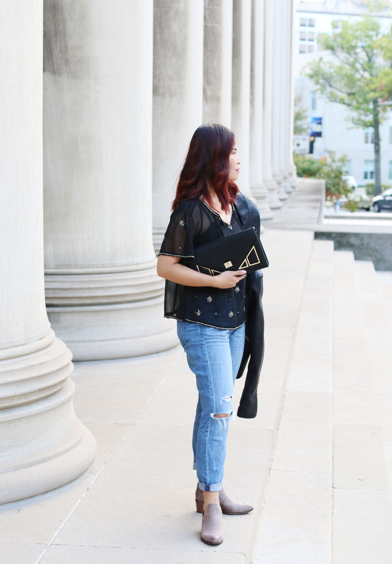 sheer-blouse-diressed-jeans-clutch-ankle-boots-7