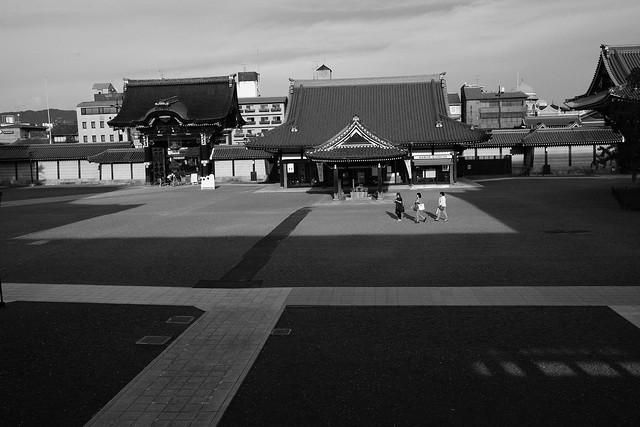 light&shadow@Honganji, Kyoto