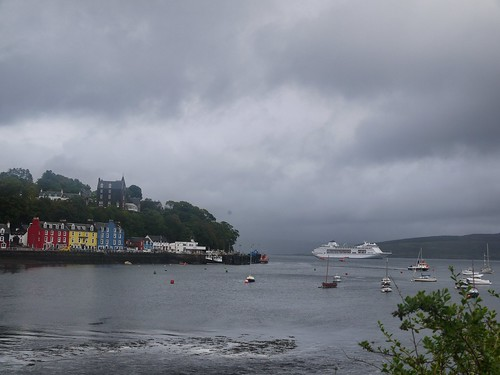 Tobermory and the Floating Hotel