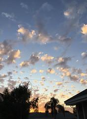 Evening sky, September 11, 2017