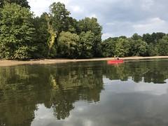 Kayak on Rocky Gorge Reservoir