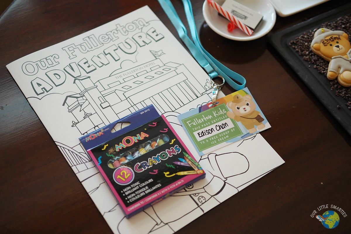 The Fullerton Hotel Kids Welcome Kit