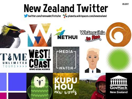 New Zealand Twitter 09.2017