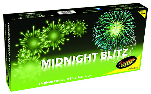 Midnight Blitz Selection Box by Standard Fireworks