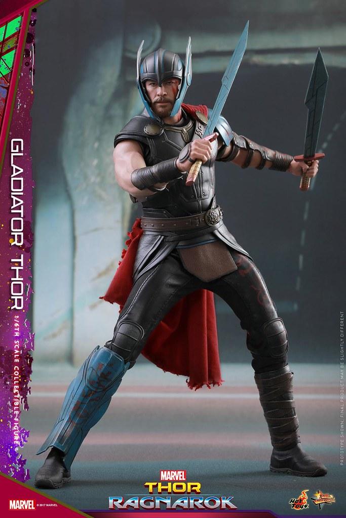 Hot Toys - MMS444 - 雷神索爾3:諸神黃昏【角鬥士索爾】Thor: Ragnarok Gladiator Thor 1/6 比例人偶作品