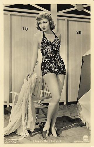 Claudette Colbert in Bluebeard's Eighth Wife (1938)