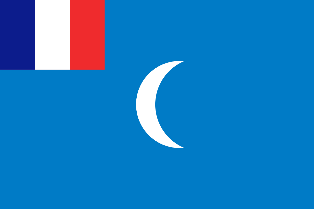Flag of the French Mandate of Syria, 1920-1923