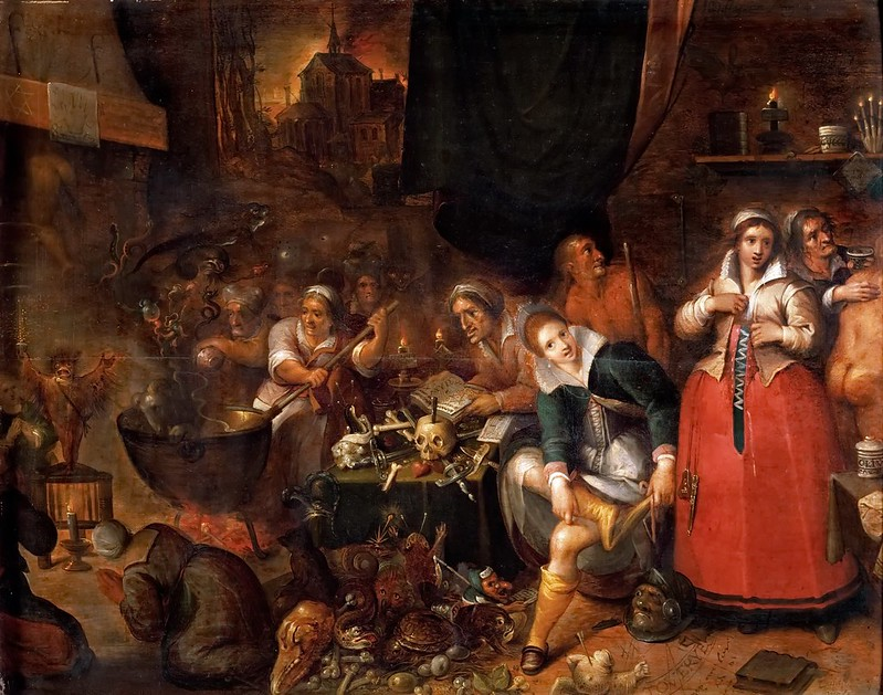 Frans Francken the Younger -  Witch's Kitchen