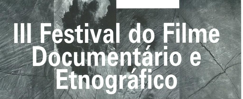 3º Festival do Filme Documentário Etnográfico de Belo Horizonte