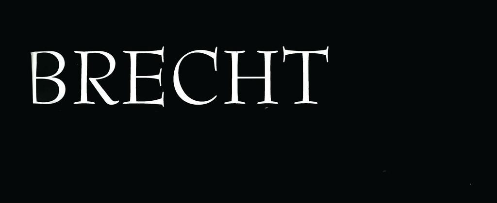 Bertold Brecht - Por Trás da Tela