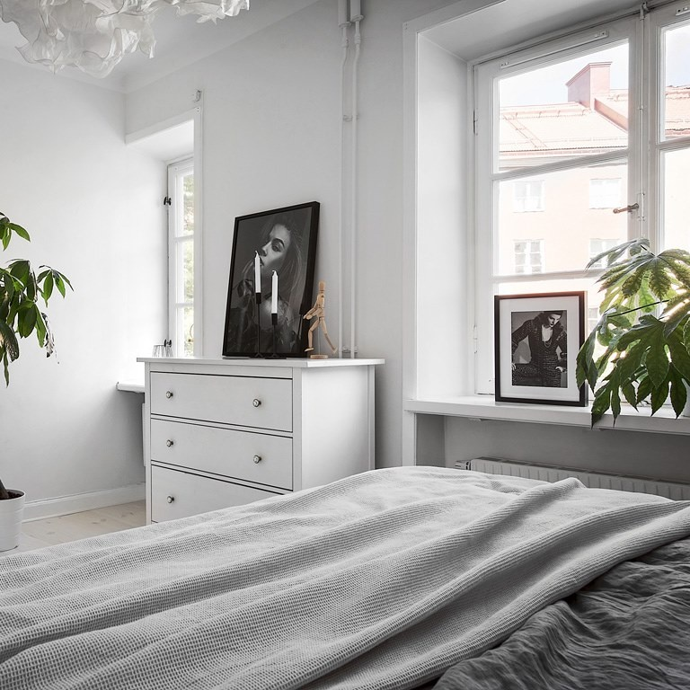 Simple Swedish Home Filled With Natural Light