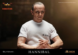 BLITZWAY - 《沈默的羔羊》1/6 比例【漢尼拔·萊克特博士 白色囚服Ver.】The Silence of the Lambs Hannibal Lecter White Prison Uniform ver.
