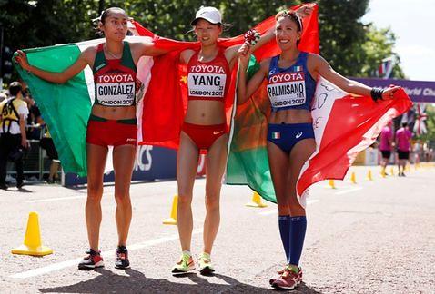 Guadalupe Gonzalez medala de plata Mundial de Atletismo Londres 2017