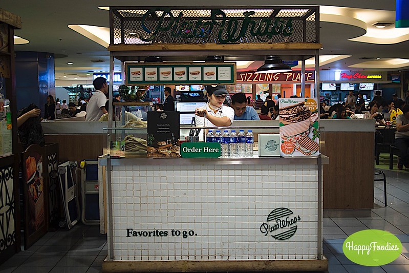 Plato Wraps in SM Megamall food court