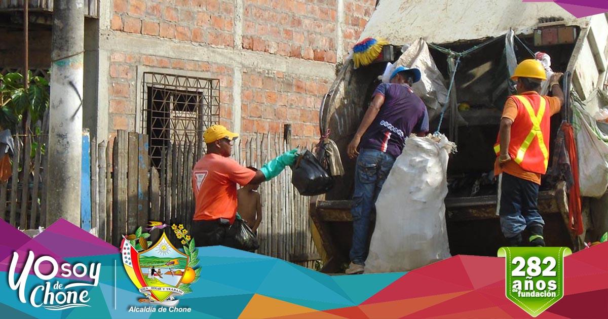 Alcaldía anuncia horario recolección de basura en fiestas de fundación