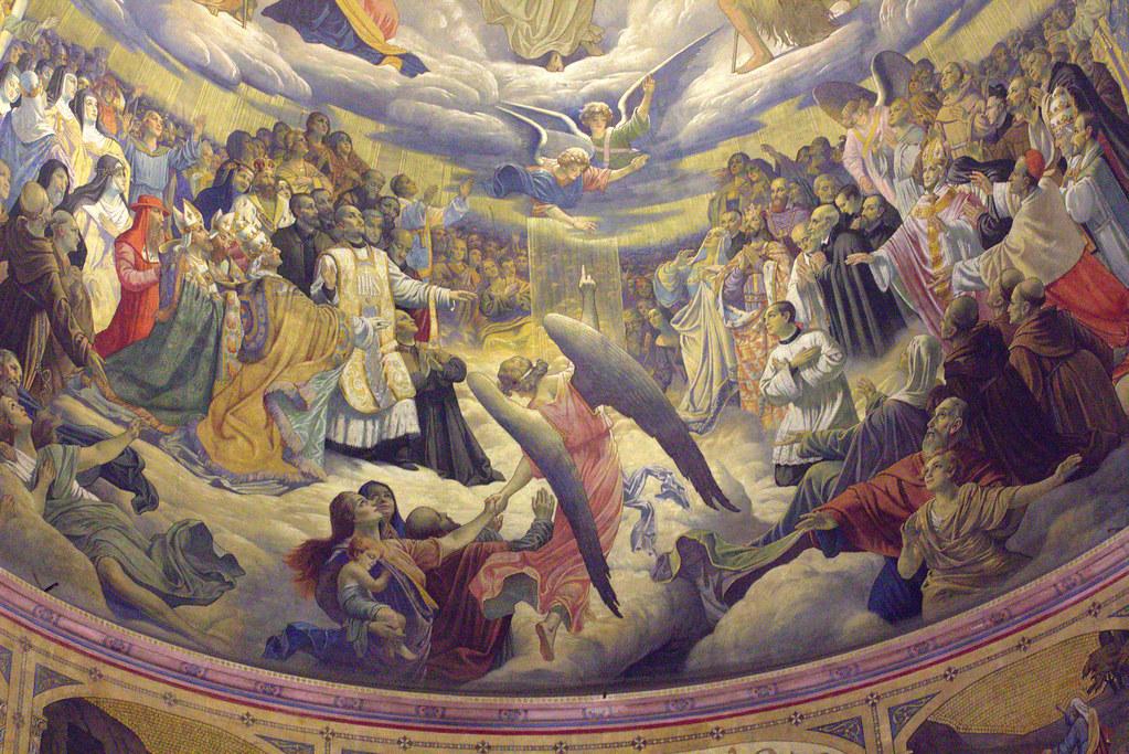 en la iglesia del Sagrado Corazón de Gijón