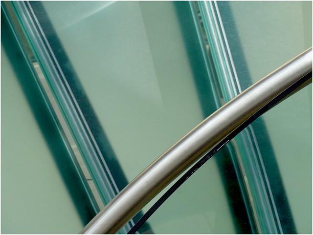 Stair Handrail. (In Explore), Panasonic DMC-LF1