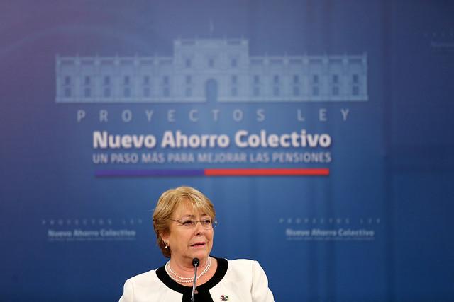 Ministro Fernández participa de firma de Proyectos de Ley que crean Nuevo Ahorro Colectivo, un paso más para Mejores Pensiones | 10.08.17