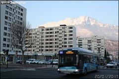 Irisbus Agora S GNV - Sémitag (Société d'Économie MIxte des Transports publics de l'Agglomération Grenobloise) / TAG (Transports de l'Agglomération Grenobloise) n°3072
