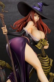 超爆乳妖豔魔女!Orchidseed《魔龍寶冠》女巫(ドラゴンズクラウン ソーサレス)1/7 比例模型