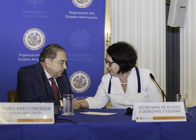 OEA y ORITEL promoverán educación inclusiva