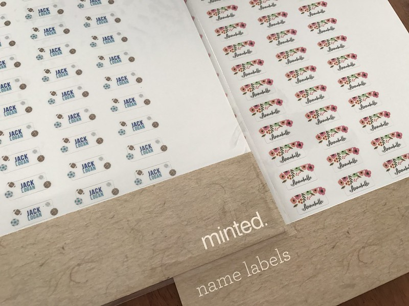 minted labels