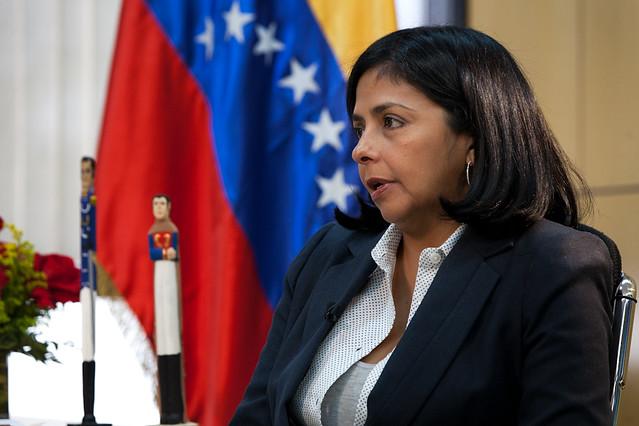 Sanções dos EUA são ilícitas, diz presidenta da Assembleia Constituinte venezuelana