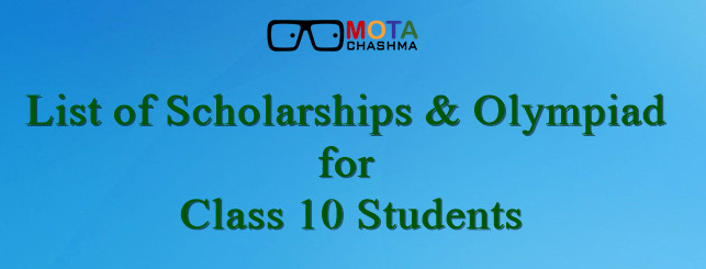 Scholarships for Class 10