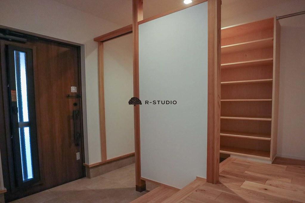 鎌倉の新築戸建:玄関