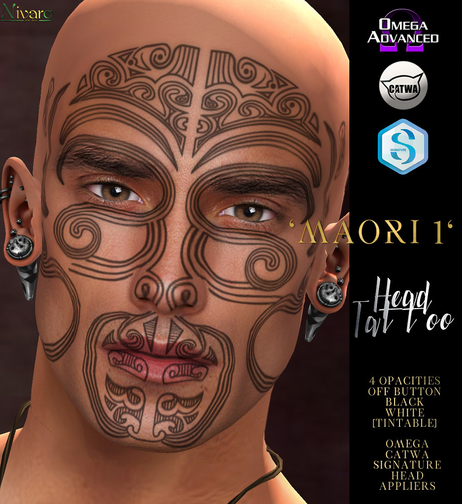-Nivaro- 'Maori 1' Tattoo Appliers Advert