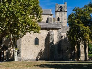 Cathédrale Notre-Dame-de-Nazareth, 11. Jh., merowingischen Aspiden, römische Fundamente