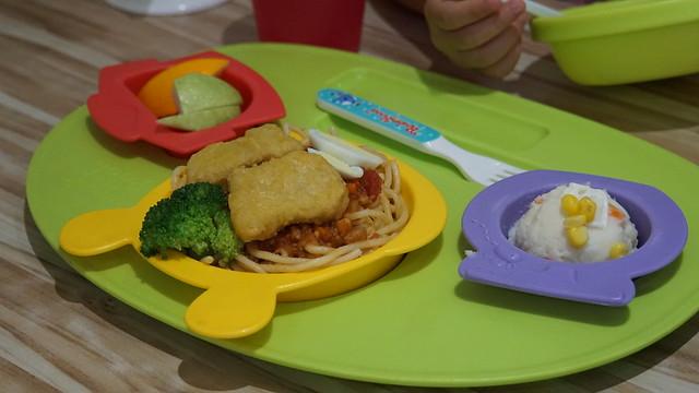 卡哇伊維尼 QQ 麵(附湯)@高雄童樂島親子餐廳