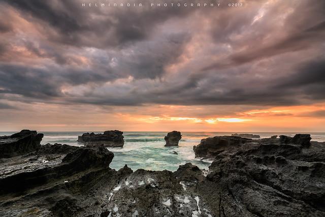 Mengening Beach Sunset