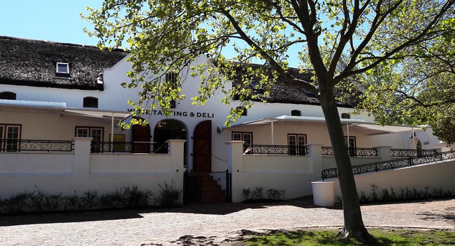 Wijn proeven in Stellenbosch, Lanzerac Wine Estate | Mooistestedentrips.nl