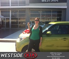 #HappyBirthday to Carol from Jerry Moore at Westside Kia!