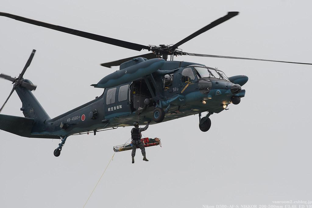 千歳基地航空祭2017 UH-60J