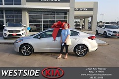 #HappyBirthday to Ashley from Rubel Chowdhury at Westside Kia!